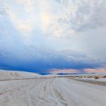 Droga przez White Sand Dunes