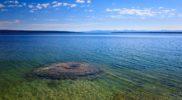 Podwodny gejzer. Jezioro Yellowstone