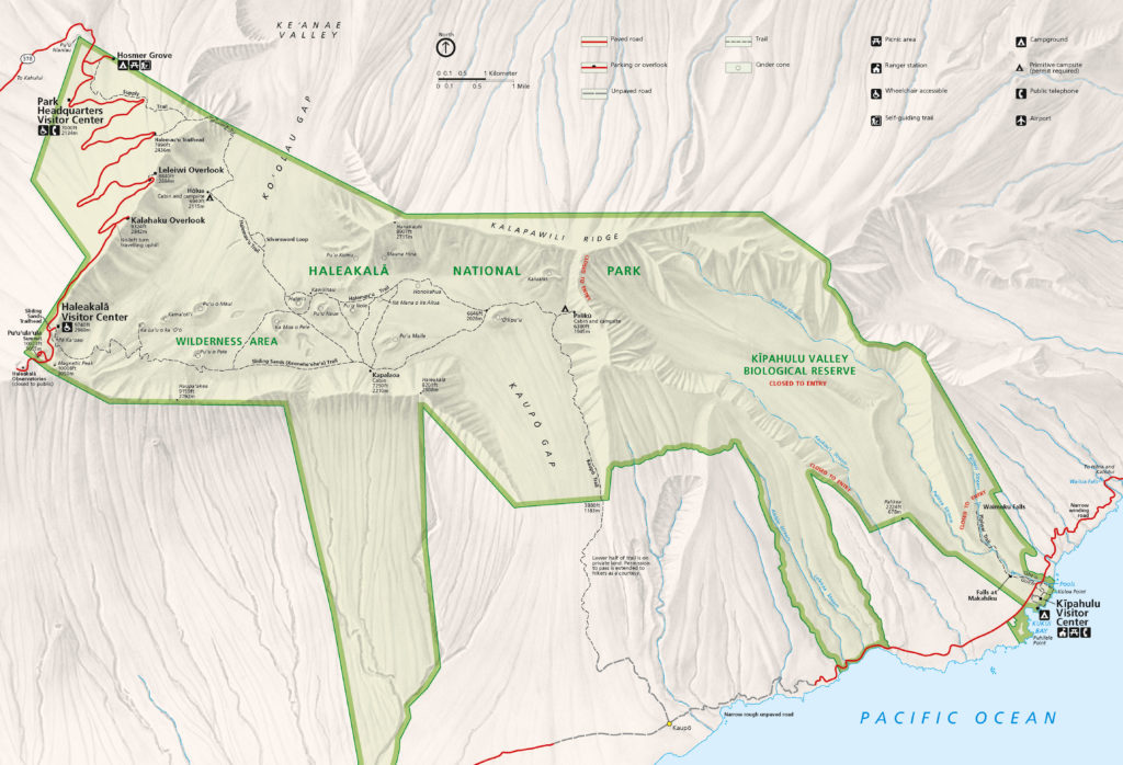 Mapa Parku - By National Park Service, Harpers Ferry Center - http://www.nps.gov/carto, Public Domain, https://commons.wikimedia.org/w/index.php?curid=9688873