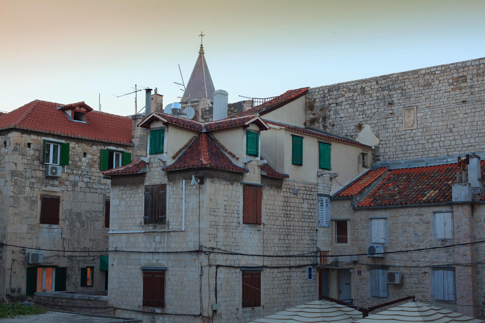 Split, Stare miasto, widok budynków