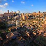 Forum Romanum, Palatyn i Koloseum