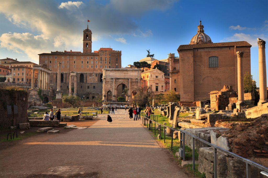 Pałac Senatorski. Forum Romanum