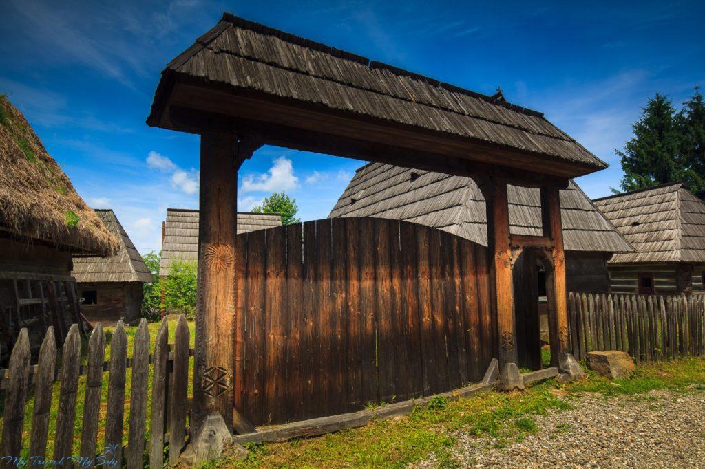 Rumunia. Park Etnograficzny - Syhot Marmaroski