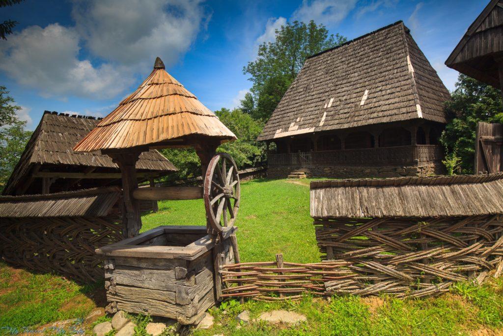 Park Etnograficzny - Syhot Marmaroski, Rumunia