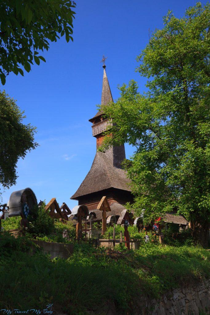 Rumunia, Rozavlea, osada Sieu - Cerkiew Poienile Izei