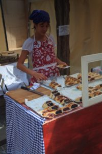 Szentendre - kram ze słodkościami
