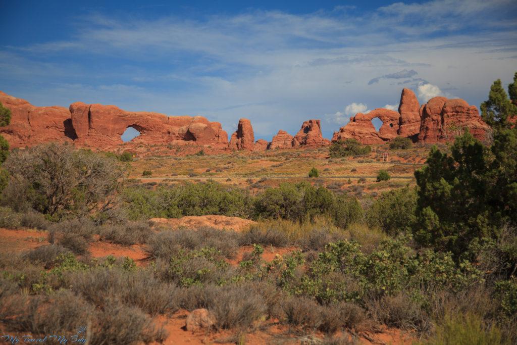 Północne i Południowe Okno a między nimi Turret Arch