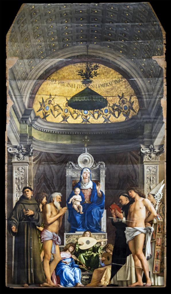 Accademia - Pala di San Giobbe by Giovanni Bellini