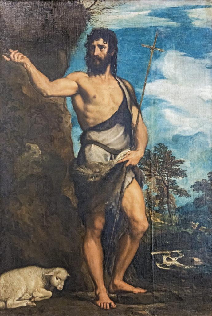 Accademia - św. Jan Baptysta - Tycjan