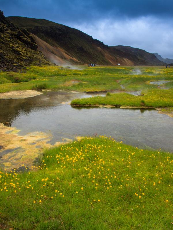 Gorące źródła w Landmannalaugar