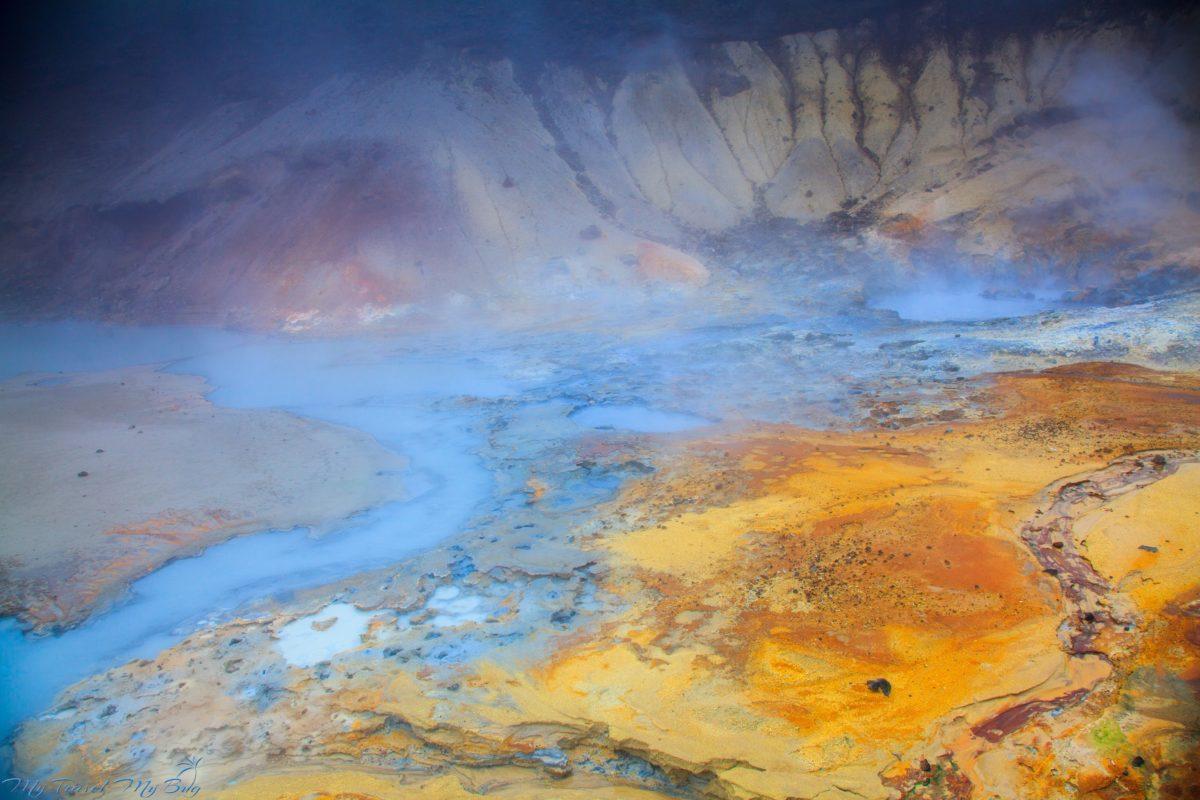Isladia, obszar geotermalny Seltún