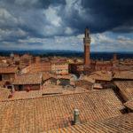 Włochy - samo południe.  Droga do Sieny