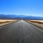 Droga przez Monument Valley